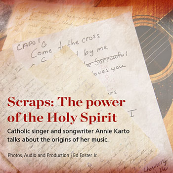 Acclaimed Catholic singer and songwriter talks about the origins of her music.