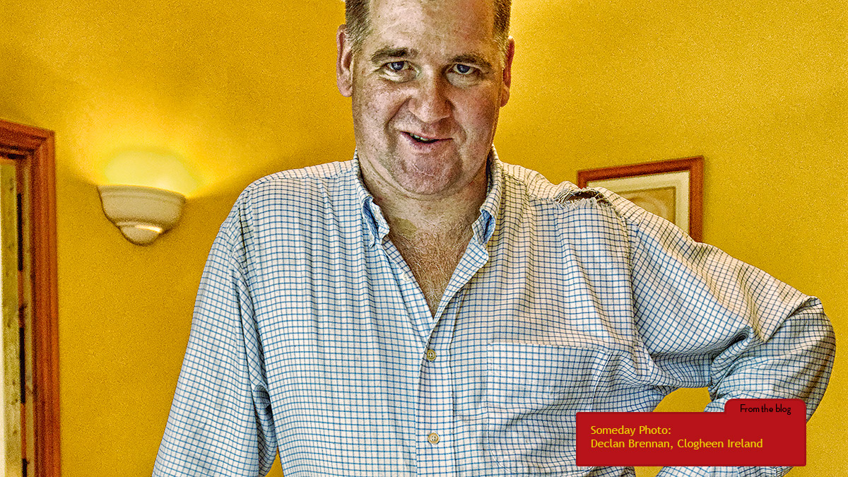 Declan Brennan, Co-Proprietor of The Hermitage House in Clogheen, County Tipperary, Ireland.