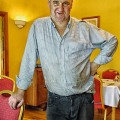 In the morning, Hermitage House host, Declan Brennan, can be found pursuing chores on the grounds of his bed and breakfast in Clogheen, County Tipperary, Ireland. By late afternoon he is freshly scrubbed and sports a crisp white shirt and black slacks and heads to the pub where he holds court until midnight.